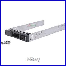 10X 2.5 SAS/SATA Hard Drive Tray Caddy for G176J Dell PowerEdge R710 R610 R620