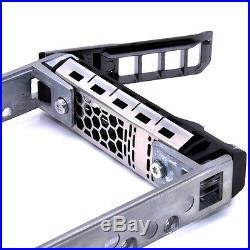 2.5 Sas/sata Hard Drive Tray Caddy For G176j Dell Poweredge R710 R610 R620 R715