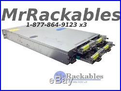 4 Node Server Dell PowerEdge C6100 XS23-TY3 Latest BIOS 12 Bay 8x L5630 CPU 96GB