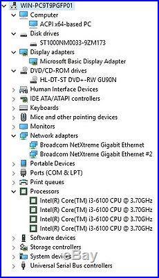 BRAND NEW Dell PowerEdge T130 i3 8GB RAM 1TB HDD DVDRW Windows Server 2016