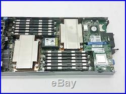 DELL POWEREDGE M610 2XEON X5650 2.66GHz 96GB (12x8GB) 273GB HDD BLADE SERVER