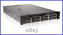 Dell Poweredge R520 8 Bay Server 8 Core Xeon E5-2450 32gb Raid H710 DVD Bezel