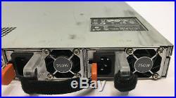 DELL POWEREDGE R620 4X 2.5 With 2x E5-2620 2.0GHZ 6Q 2x 750W NO MEM, NO HDD