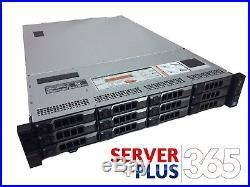 DELL POWEREDGE R720XD 3.5 LFF 2x 10 CORE E5-2690V2 3GHz, 128GB 12x TRAYS H710