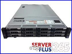 DELL POWEREDGE R720XD 3.5 LFF 2x 10 CORE E5-2690V2 3GHz, 64GB 12x TRAYS H710