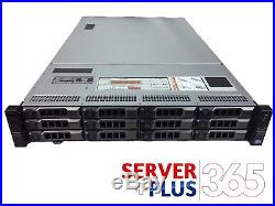 DELL POWEREDGE R720XD 3.5 LFF 2x E5-2640 2.5GHz 6 CORE 32GB 12x TRAYS H310