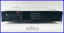 DELL POWEREDGE R720 SERVER 2XEON E5-2643 QC 3.30GHz CPU 32GB RAM Perc H710P