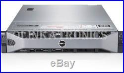 DELL POWEREDGE R730xd SERVER 24 BAY SFF 14 CORE E5-2683 V3 32GB H730P ENTERPRISE