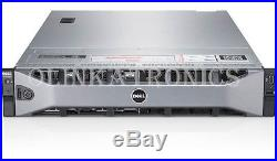 DELL POWEREDGE R730xd SERVER 8 BAY 3.5 18 BAY 1.8 SSD E5-2630 V3 64GB H730P