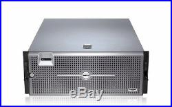 DELL POWEREDGE R900 SERVER 4 Six CORE XEON X7460 256GB RAID PERC Two PS