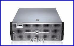DELL POWEREDGE R900 SERVER 4 Six CORE XEON X7460 64GB RAID PERC Two PS