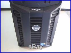 DELL POWEREDGE T110 SERVER INTEL XEON QUAD-CORE X3440 2.53GHz 4GB NO HDD