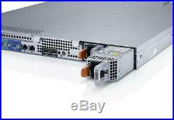 DELL PowerEdge R320 E5-2420 v2 Xeon 6-Core 2.2GHz 32GB RAM 4×100GB SSD