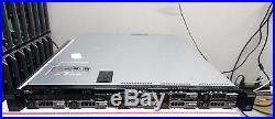 DELL PowerEdge R420 8 Bay 1U Server 2xE5-2420 6C 1.9GHz 16GB 4x300GB SAS H710P