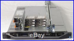 DELL PowerEdge R610 1U Server 2xE5530 QC 2.4GHz 48GB 6x146GB SAS PERC6i 2x717W