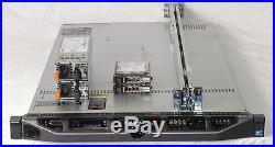 DELL PowerEdge R610 1U Server 2xE5530 QC 2.4GHz 96GB 2x146GB SAS PERC6i 2x717W