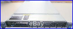 DELL PowerEdge R610 1U Server 2xE5540 QC 2.53GHz 24GB 2x73GB 15K PERC6i 2xPSU