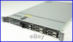 DELL PowerEdge R610 1U Server 2xQuad-Core Xeon 2.66GHz + 48GB RAM + 3x146GB RAID