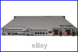 DELL PowerEdge R610 1U Server 2x HEX Core 2.66GHz 96GB RAM 2x300GB SAS PERC6i