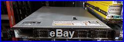 DELL PowerEdge R620 10Bay 1U Server 2xE5-2630V2 2.6GHz 6C 64GB H710P 10Gbe NIC