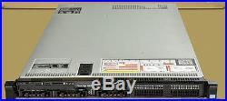 DELL PowerEdge R620 1U Server 2x E5-2643 QC 3.3GHz 48GB 4Bay 2x500GB H710 2x495W