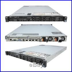 DELL PowerEdge R620 2x 2.50Ghz E5-2640 Six Core 96GB 4x 300GB 10K SAS