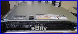 DELL PowerEdge R620 4Bay 1U Server 2xE5-2640 2.5GHz 6C 16GB H710 IDRACent 2x750W