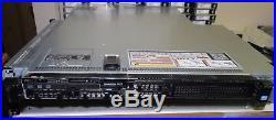 DELL PowerEdge R620 4Bay 1U Server 2xE5-2690V2 3GHz 10C 64GB 2x1100W IDRAC7 Ent