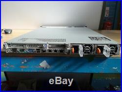 DELL PowerEdge R620 Server 2x Xeon E5-2667 2.90Ghz 2x 750W DVD 600GB 32GB RAM