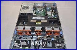 DELL PowerEdge R710 2x E5620 2.4GHz 48GB PERC H700 512MB iDRAC6 Ent 2x PS Server