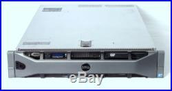DELL PowerEdge R710 G2 2U Server 2xE5530 QC 2.4GHz 72GB 3x1TB 3.5 PERC6i 2x570W