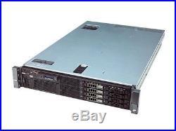 DELL PowerEdge R710 Server 2X Quad Core 2.53GHz 72GB RAM 4X146GB 10K PERC6i