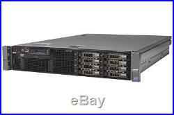 DELL PowerEdge R710 Server 2×Xeon Quad-Core 2.53GHz + 48GB RAM + 4×600GB RAID