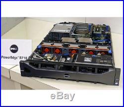 DELL PowerEdge R710 Server 2×Xeon Six-Core 3.06GHz + 48GB RAM + 4×300GB SAS RAID