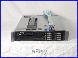 DELL PowerEdge R710 Server 2xE5530 QC 2.4GHz 24GB 2x146GB SAS PERC6 IDRAC6 Rails