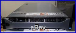 DELL PowerEdge R720 2U 16Bay Server 2xE5-2630 6Core 2.3GHz 128GB 6x900GB10K 2xPS