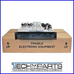 DELL PowerEdge R720xd 2x E5-2670 16-cores 2.6Ghz/64GB/H710 2.5SFF 24-bay Server