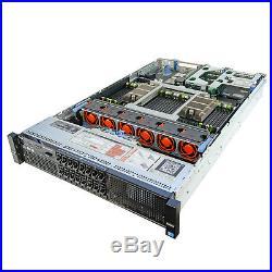 DELL PowerEdge R820 Server 4x 2.40Ghz E5-4650v2 10C 96GB Premium