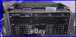 DELL PowerEdge R910 G2 4U Server 4xE7-4860 10C 2.26GH 128GB 2x300GB 5x600GB H700