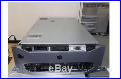 DELL PowerEdge R910 II 4U Server 4xE7-4870 10C 2.4GHz 512GB 2x300GB H700 4x1100W