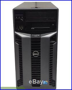 DELL PowerEdge T610 Tower 8Bay Server 2x X5667 QC 3.07GHz 24GB 6x 2TB SAS PERC6i