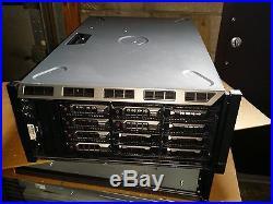 DELL PowerEdge T620 Server 12 bay Two E5-2670 32gb memory 2 x 300gb 15k H710P