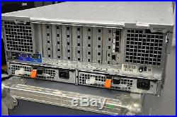 DELL Poweredge R900 4X Intel E7458 2.40Ghz 6-Core XEON 128GB RAM 4x500GB HD 2XPS