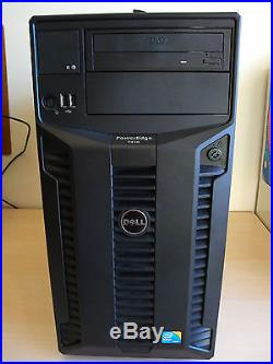 Dell POWEREDGE T410 Server 2x 6-core XEON L5640 32GB DDR3 RAM WIN7 pro RAID