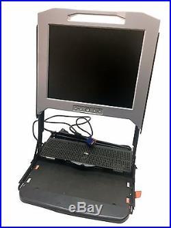 Dell PowerEdge 15FP 1U Rack Mount Console KVM 15 TFT LCD Monitor MF792 NO RAILS