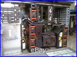 Dell PowerEdge 2900 II Tower Server 2 x Xeon 2.66GHz 8-CORE 32GB RAM 4x146GB SAS