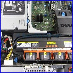 Dell PowerEdge 2950 III Server 2x 3.16GHz X5460 Quad Core 32GB PERC 6i + 2 Trays