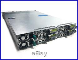 Dell PowerEdge C6100 4-Node 12-Bay Server 8x X5660 48-Core 2.8Ghz 128GB 9260-8i