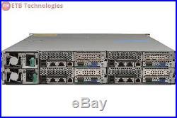 Dell PowerEdge C6220 3 x Node Server 6 x E5-2650, 96GB, 12 x 1TB SATA, 10Gb NIC