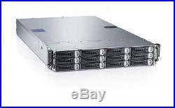 Dell PowerEdge C6220 4 Node server 8 x XEON 8-CORE E5-2670 384GB RAM Rack Mount